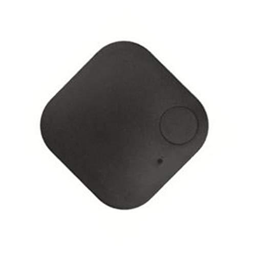 CamKpell Tracker GPS per auto smarrito quadrato Animali domestici Chiavi portafogli Localizzatore di allarme Finder in tempo reale Trackr - Nero
