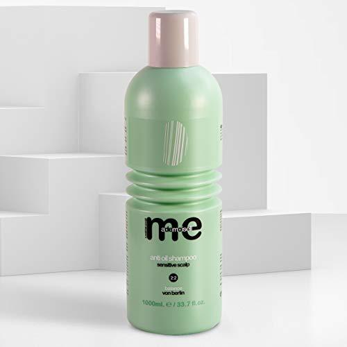 MeMademoiselle Anti Oil Shampoo gegen fettiges Haar | Keratin Shampoo ohne Silikon und Parabene | Shampoo Damen bzw. Shampoo Herren (1000ml)