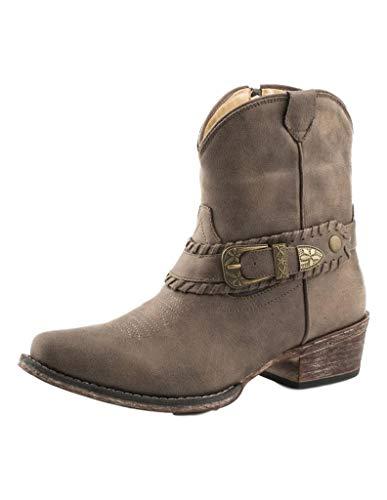 Roper womens Western Boot, Brown, 6 US