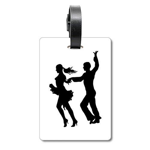 Dancer Duet Dance Performance Art Cruise - Etiqueta de identificación para Maleta
