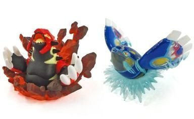 Pokemon Omega Ruby alpha sapphire benefits Original Figure Set of 2 Gen Shi Groudon + Gen Shi Kyogre [privilege only]