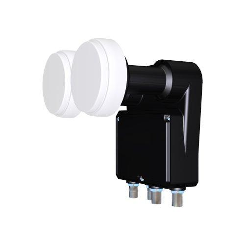 Inverto IDLB-QUDM21-MNOO6-8P convertitori abbassatore di frequenza Low Noise Block (LNB) 10,7-11,7 GHz Nero