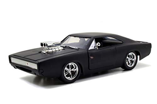 Jada- Fast & Furious Dodge Charger (Street) in Scala 1:24 Die-Cast, Funzionamento a Ruota Libera, Parti apribili, 253203012