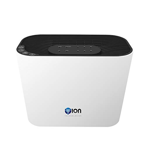 OION 4-in-1 True HEPA Air Purifier 3 Speeds Plus UV-C Sanitizer (White)