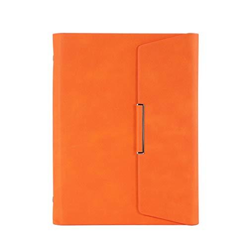 De hojas sueltas portátil planificador de la agenda organizador de la reunión de negocios Notebook Planificador School Stationery Office Supplies Diario cuaderno punteado diario punteado ( Color : A )