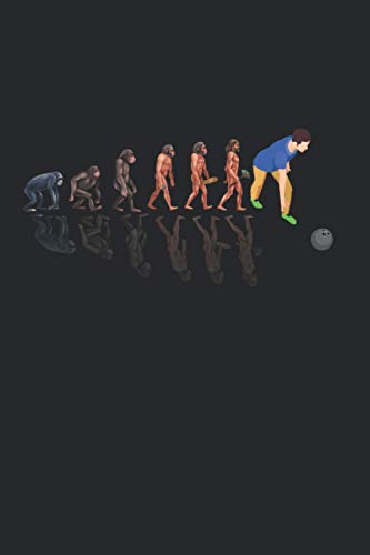 DIARIO DE CUADERNO Bowling Evolution: Cuaderno de 120 páginas |forrado |papel blanco...