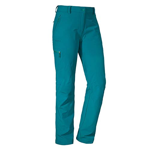 Schöffel Pantalon Ascona Femme, Deep Lagoon, FR : XL (Taille Fabricant : 46)