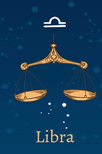 Libra: Zodiac Astrology Design Journal 6x9 (Astrology Notebook & Zodiac Gifts)