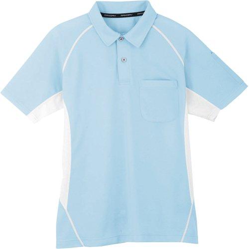 コーコス信岡 コーコス コーコス 半袖ポロシャツ 7サックス L MX7077L