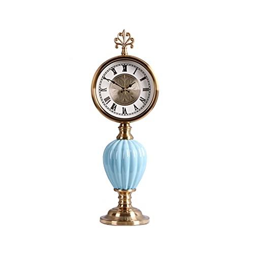 Desk & Shelf Clocks Home Orologio Decorazione Disattiva Tavolo Orologio da Tavolo Soggiorno Camera da Letto Office Desktop Decorazione da Tavolo Orologio da Tavolo 20,86 Pollici Decorative Clocks