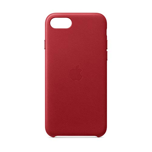 Apple Leder Case (für iPhone SE) - (PRODUCT)RED