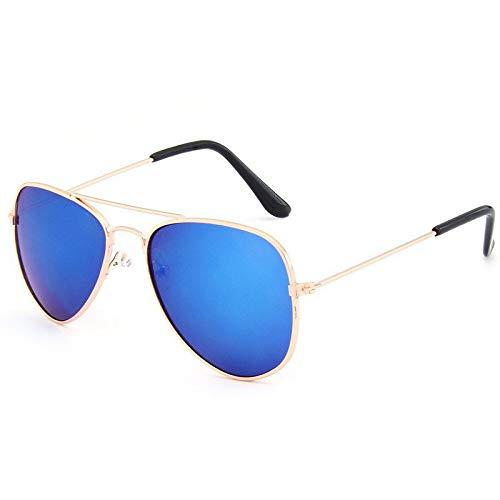 cjcaijun Gafas Protección UV Gafas De Sol For Niños Gafas De Sol Coloridas For Niños Gafas De Sol De Aviador Gafas de sol (Color : A)