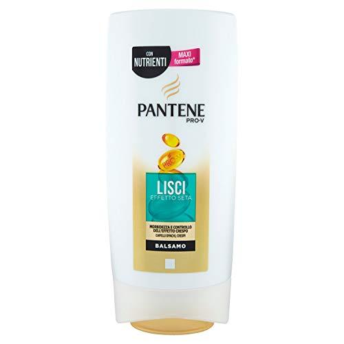 Pantene lisse effet soie Baume pour cheveux forme oblongue Crespo, 675 ml