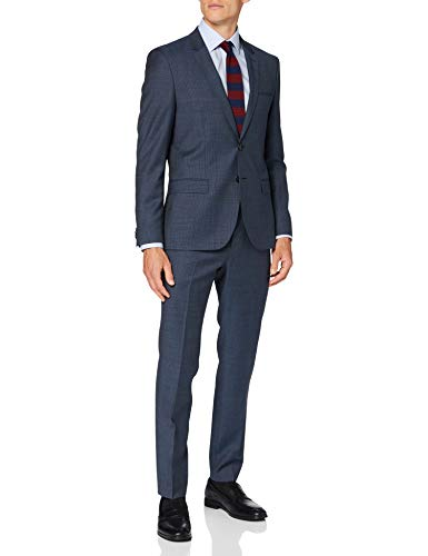 HUGO Mens Arti/Hesten193 Suit-Dress Set, Navy(412), 110