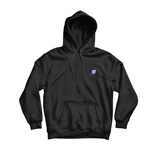 Twitch Kern Glitch Pullover - Schwarz (Small)