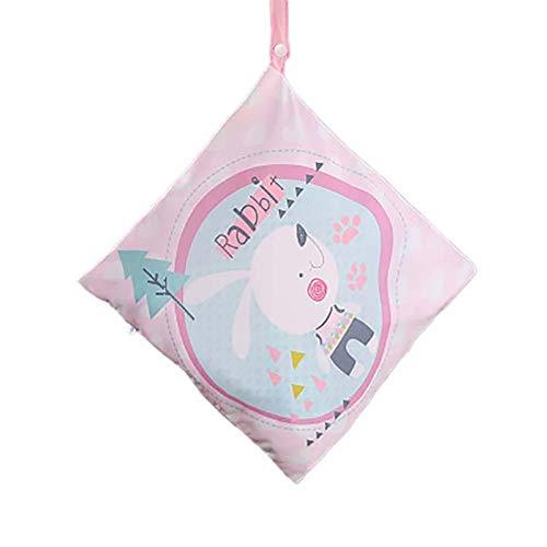 Monbedos baby kleine kinderen waterdichte ritssluiting, herbruikbare luiertas, luiertas van vilt D 29 cm x 27 cm.