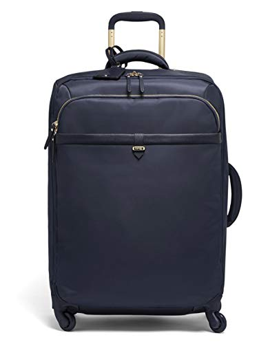 Lipault - Plume Avenue Spinner 65/24 Luggage - 26' Suitcase Rolling Bag for Women - Night Blue