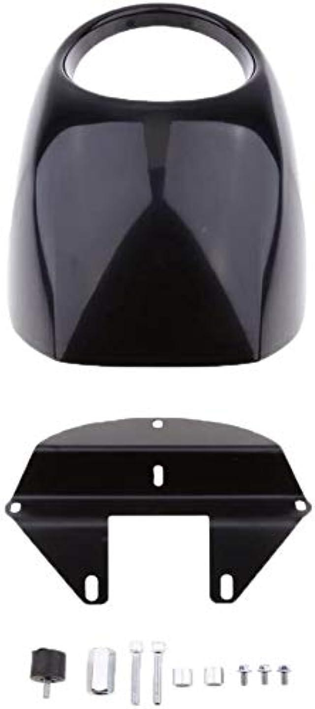 甘いシェア発言するYLEI 調整可能 マットブラック - オートバイのヘッドライトフェアリングは、バイザーのためにハーレースポーツスターダイナFX/XLマスク (Color : Glossy Black)