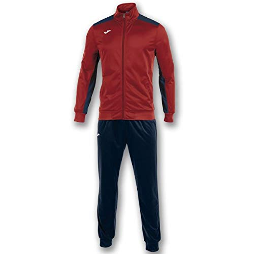Joma Academy Chandal Caballero, Hombre, Rojo/Marino, XL
