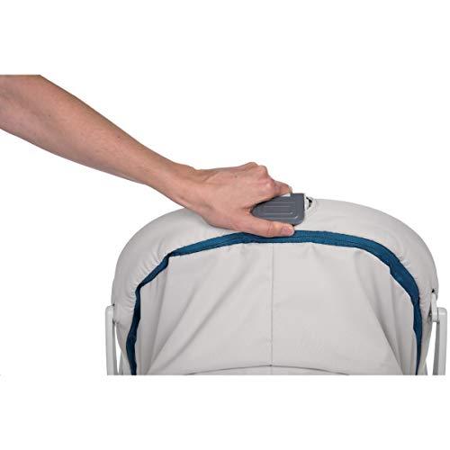 Chicco Baby Hug 4en1 - Sistema multifunción: moisés, hamaca, trona y silla, regulable en altura, color gris (Glacial)