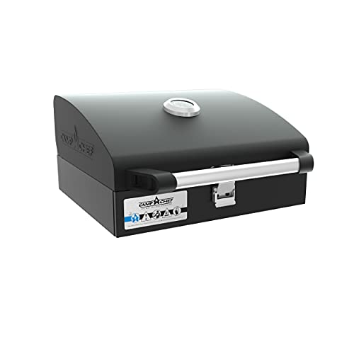 Camp Chef Deluxe BBQ Grill Box, Single Burner Accessory, Cooking Dimensions: 14 in. x 16 in