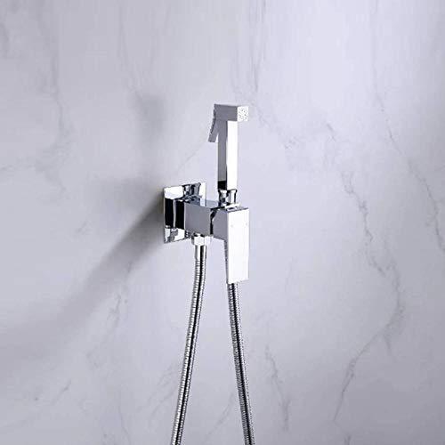 BFCGDXT set de ducha con pistola de agua fría y caliente sanitaria a presión para inodoro empotrado de pared.