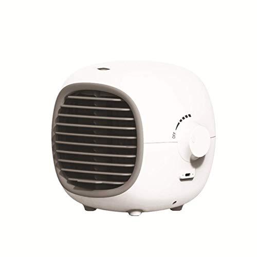 Refrigerador de aire doméstico Mini refrigerador de aire, escritorio para el hogar pequeño recargable agua refrigerante aire acondicionado (Color: a) (Color: B) Enfriador evaporativo ( Color : A )