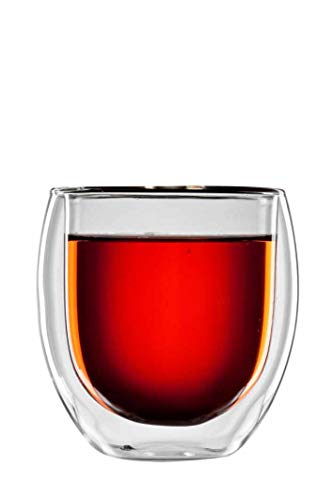 bloomix Teeglas Tunis 400 ml, doppelwandige Thermo-Teegläser, 2er-Set