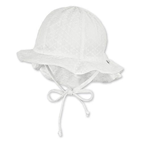 Sterntaler Baby-Mädchen Flapper 1402120 Hut, Ecru, 47