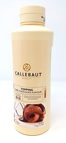 Callebaut Dunkle Schokolade Belag Soße 1kg