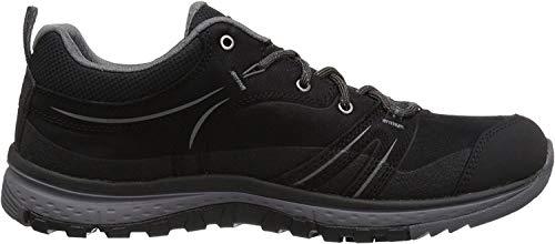Preisvergleich Produktbild KEEN Damen Wanderschuhe Terradora Leather Waterproof Black / Steel Grey 38