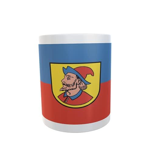 U24 Tasse Kaffeebecher Mug Cup Flagge Heidenheim an der Brenz