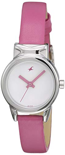 Fastrack Fits and Forms Analog White Dial Women's Watch -NK6088SL01