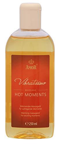 """AMOR Vibratissimo\""""Hot Moments\"""" Riscaldamento olio da massaggio per momenti emozionanti"""