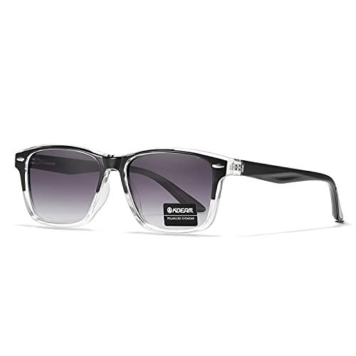 NBJSL Gafas de sol polarizadas casuales Hombres Mujeres Tr90 Gafas de sol de conducción al aire libre Exquisito embalaje de regalo