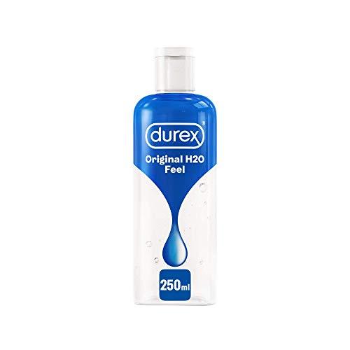 Durex Pleasure Gel Feel Lubrificante Intimo Sessuale, 250ml