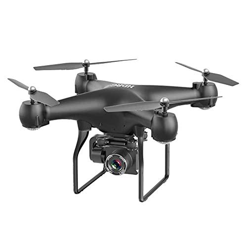 GAOFQ Dron WiFi, cámara ESC de fotografía aérea de Gran Angular 4K, aeronave de Control Remoto de Cuatro Ejes de Larga duración, transmisión de gráficos en Tiempo Real, Altura barométrica