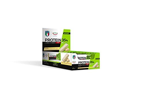 Equilibra Protein 35% White Chocolate, 24 barrette da 45 g