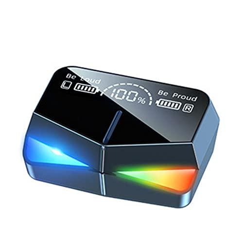 XCYG Auriculares intrauditivos Bluetooth 5.0 Tecnología Bluetooth, Auriculares inalámbricos a Prueba de Agua con función de Banco de energía y luz Ambiental, 0,2 kg.
