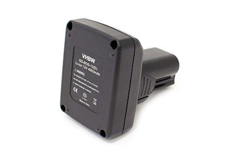 vhbw Li-Ion Akku 4000mAh (10.8V) für Elektrowerkzeuge Bosch Spit PS30-2A, PS30B, PS31-2A, PS40, PS40-2, PS40-2A, PS40B wie BAT411, BAT411A.
