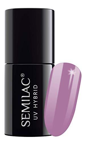 semilac UV Hybrid Nagellack, Nummer 010, 7ml, Pink und Violett