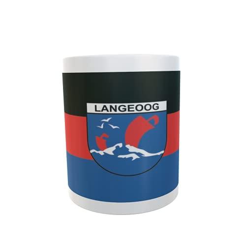 U24 Tasse Kaffeebecher Mug Cup Flagge Langeoog