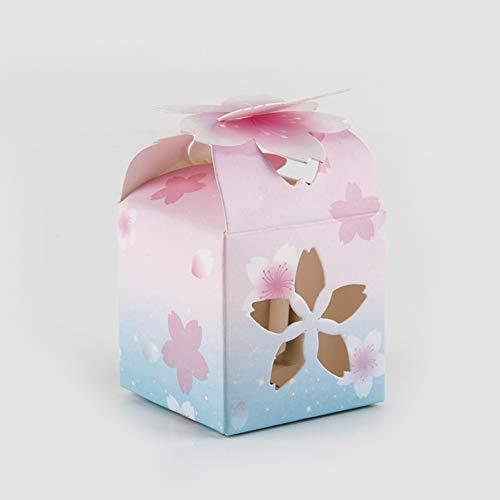 Yiwa 50 stuks/verpakking snoepjes, voor bruiloft, Chinese stijl, hol, voor feestjes, bruiloft, decoratie, snoepjesbox