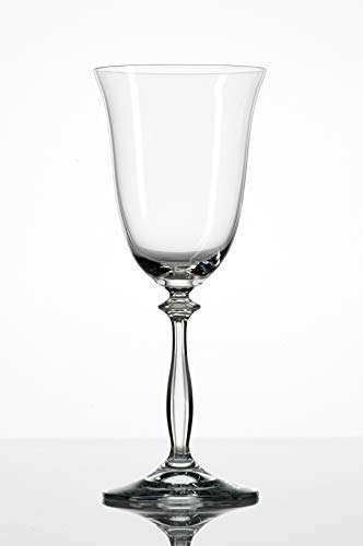 Bohemia Cristal 093 006 001 Weingläser 350 ml aus Kristallglas 6er Set