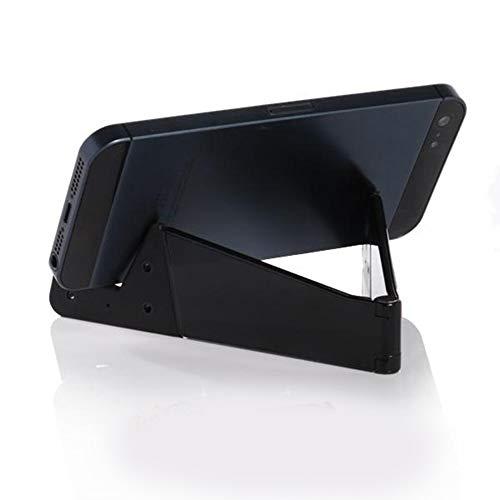 Un-brand Smart Phone e Tablet Desktop Stand V Forma Pieghevole Verticale e Orizzontale Telefono StandMount per Smart Phone