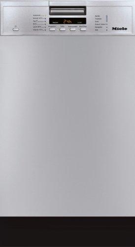 Miele G 4600 SCU teilintegrierbarer Geschirrspüler / A A / 9 Maßgedecke / 45 db / Edelstahl/CLST / Praktische und platzsparende Besteckschublade / 44.8 cm