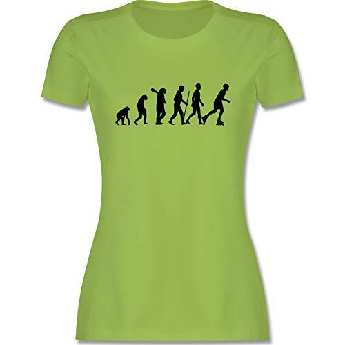 Evolution - Inliner Evolution - S - Hellgrün - Inliner - L191 - Tailliertes Tshirt für Damen und Frauen T-Shirt