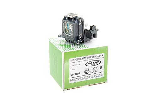 Alda PQ-Premium, Beamerlampe / Ersatzlampe für SANYO PLV-Z700 Projektoren, Lampe mit Gehäuse
