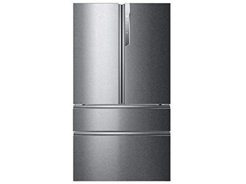 Haier HB26FSSAAA French Door Side-by-Side mit Eisspender - No Frost - 685 Liter, Edelstahl-Optik - A++