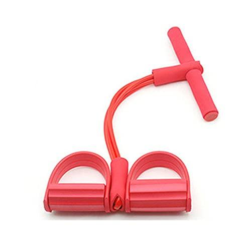 Pedal de Yoga PULTER ELASTE SITURSE Arriba Cuerda de tirón con Pedal de pie Pedal Banda de tensión Ejercicio Abdominal Fitness Equipo de Adelgazamiento Gimnasio 0820 (Color : Green)